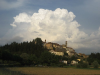 Clouds over Monterchi