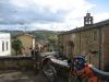 Motorbikes in Monterchi